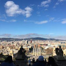 Dachterrassen über Barcelona