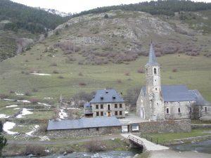 Montgarri ist das höchste Dorf in dem Tal Vall d'Aran
