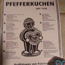 Pfefferkuchen – Lebkuchen – Printen